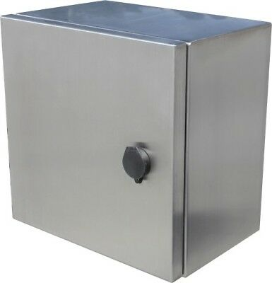 316 Stainless Steel Electrical Enclosure, Cabinet, Switchboard 300H x 300Wx 200D