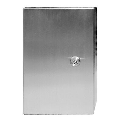 316 Stainless Steel Electrical Enclosure, Cabinet, Switchboard 300H x 200Wx 150D