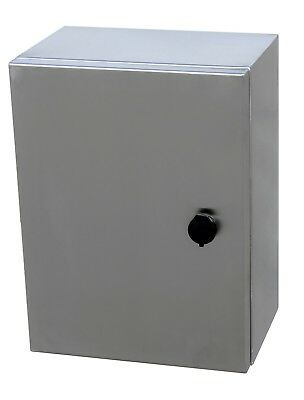 316 Stainless Steel Electrical Enclosure, Cabinet, Switchboard 400H x 300Wx 200D