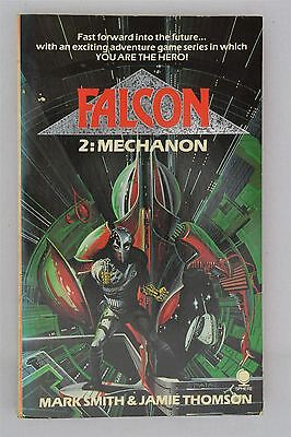 Falcon #2 Mechanon Mark Smith Jamie Thomson 1985 Vintage UK 1st Sci-Fi Gamebook