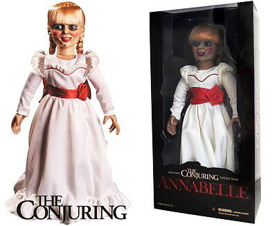 """The Conjuring - Annabelle Prop Replica Doll Toy By Mezco 18"""" New"""