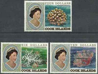 Timbres Faune marine Famille royale Cook 665/7 ** lot 15217