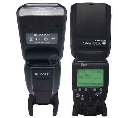 UK Shanny SN910EX-RF 2.4G Wireless Radio 1/8000s Flash Speedlite for Nikon SB910
