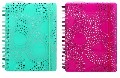 Letts 2017 Diary Fashion PP A6 Week-To-View Starburst Spiral Bound