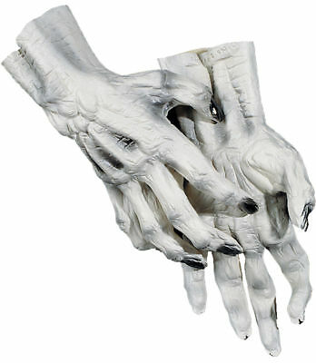 Morris Costumes Accessories & Makeup Hands & Feet Skeletons White L. DU975