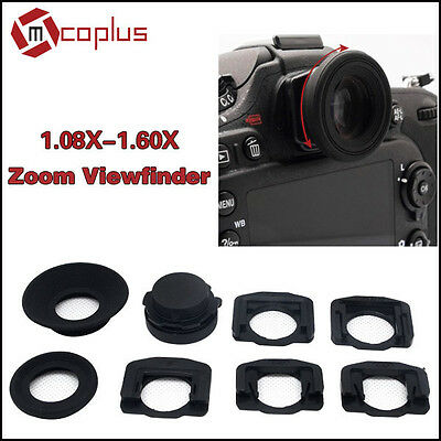 Mcoplus 1.08x1.60xZoom Viewfinder Eyepiece Magnifier for Canon Nikon Pentax Sony