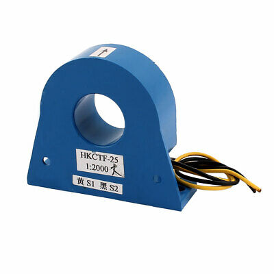 80 x 69.5 x 23mm Leakage Protection Zero Sequence Current Transformer Blue