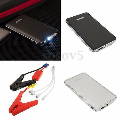 20000mAh LED Charger Battery Power Bank Portable Car Jump Starter Pack Booster