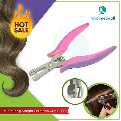 New Hair Extensions Purple Straight Teeth & Fusion Crushing Bond Removal Pliers