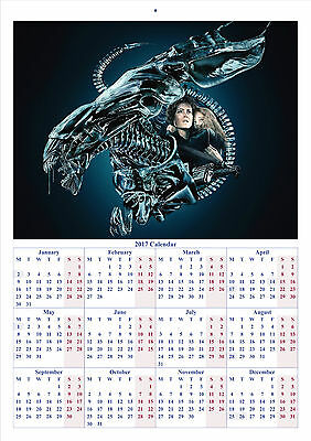Aliens V2 - 2017 A4 CALENDAR **BUY ANY 1 AND GET 1 FREE OFFER**