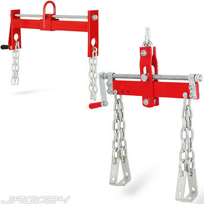 Engine Load Leveller Crane Hoist Lift Leveler Chain Handle Red Choice of Size