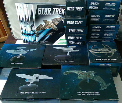 Eaglemoss Star Trek Starships Collection Models & Mags inc Special Edition Issue