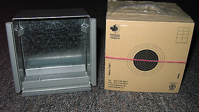 Combo Pack #2 Krüger Competition air Rifle targets and pellets trap box