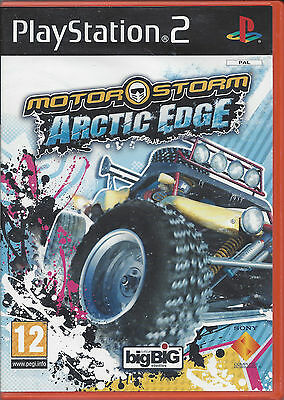 MOTORSTORM ARCTIC EDGE for Playstation 2 PS2 - with box & manual - PAL