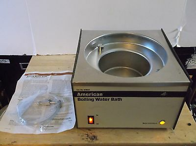 American Dade W3022 Boiling Water Bath   with Owners Manual