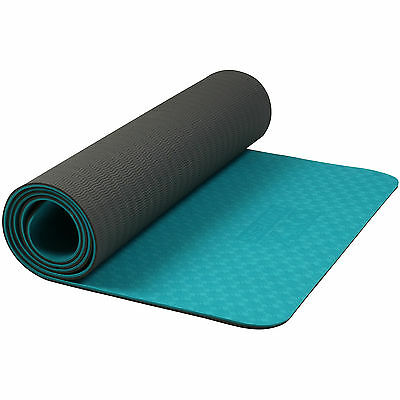 DTX Fitness Lightweight TPE Exercise Floor Mat Yoga/Pilates/Workout Class Ab/Sit