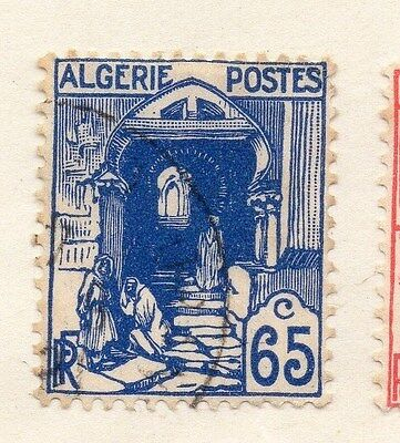 Algeria 1929-30 Early Issue Fine Mint Hinged 65c. 087315