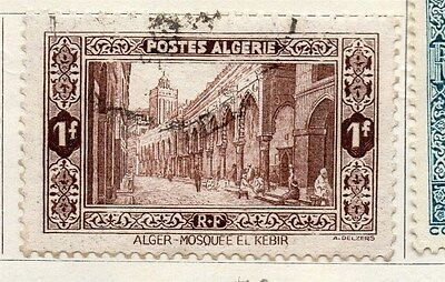 Algeria 1936 Early Issue Fine Used 1F. 087322
