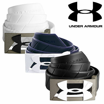 Under Armour Men's UA Silicon Rubber Funky Golf Belt - 1254227