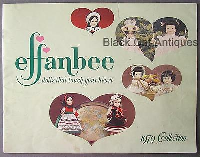 Original Vintage 1979 Effanbee Collection Doll Catalog