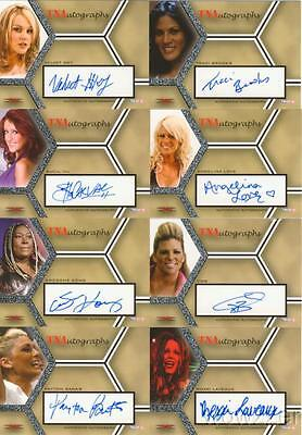 2008 Tristar TNA Impact Wrestling Factory Sealed Box +AUTOGRAPH ! $20 Loaded !