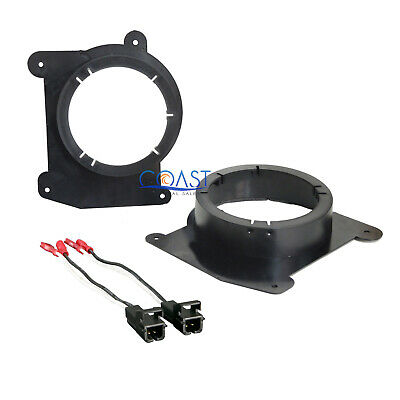 "Car 5.25""- 6.5"" Speaker Adapter With Harness for 1994-2004 Chevrolet GMC Isuzu"