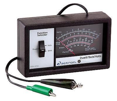 Actron Ignition Tester Dwell Meter Tachometer Voltmeter Ea CP7605