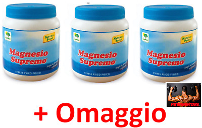 MAGNESIO SUPREMO NATURAL POINT 3 x 300 GR - ANTISTRESS NATURALE