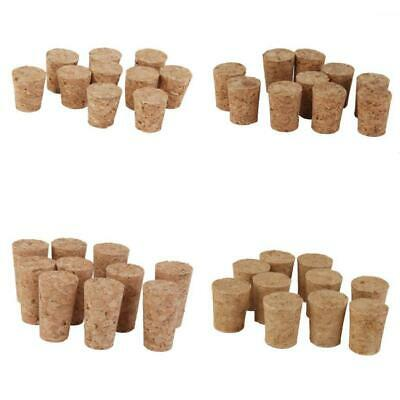10pcs Tapered Wine Corks Stoppers for Crafts Art Modelling DIY Cork Board