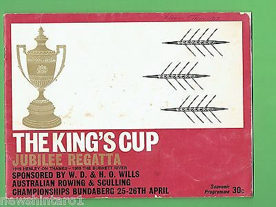 #d270.  1969  The  King's Cup  Rowing &  Sculling  Program