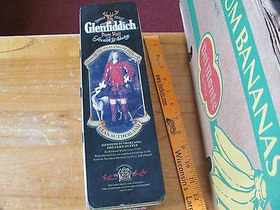 Glenfiddich Scotch Whiskey Clans of the Highlands of Scotland Tin Sutherland