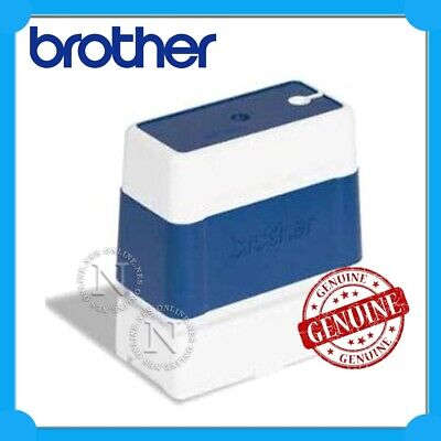Brother Genuine PR-2770E6P BLUE 27x70mm (Pack of 6) w/ 8x ID Labels Ink Stamps