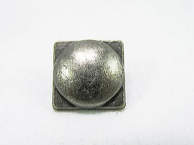 Punk Rivets Square Dome Antique silver 14 x 14mm suit bags, belts, hats collars