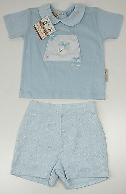 The Happy School Bears Set Shirt und Hose Baby Kinder Hase Größe 80 86 92  Neu