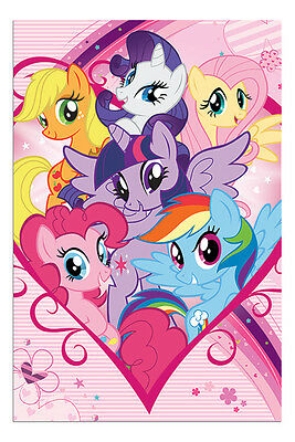 My Little Pony Group Childrens TV Series Poster New - Maxi Size 36 x 24 Inch