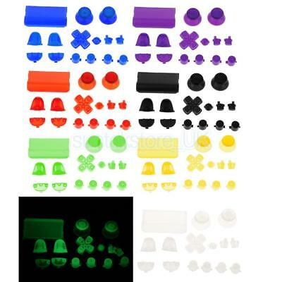 Replacement Mod Kit Joystick Thumb Stick Grips Button for Sony PS4 DualShock4