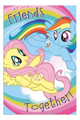 My Little Pony Friends Together TV Series Poster New - Maxi Size 36 x 24 Inch
