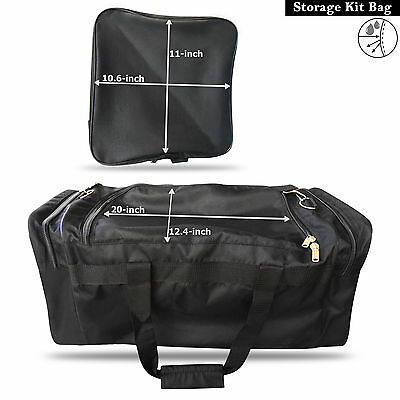 Kit Bag Water Resistant Sports Traing Football Gym Fitness Outdoor Travel Bag