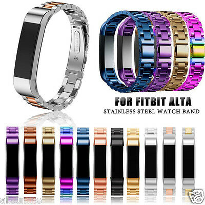 New Stainless Steel Bracelet Watch Band Wrist strap For Fitbit Alta Smart Watch