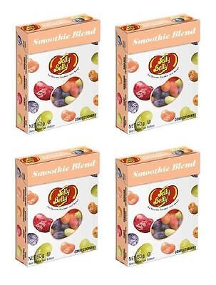 4x Jelly Belly Smoothie Blend Flavours The Original Gourment jelly Bean 50g -New