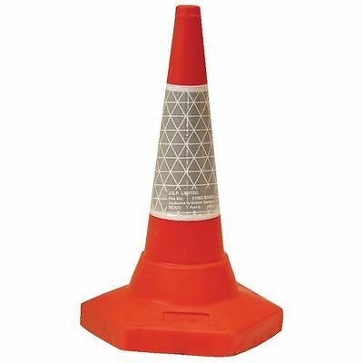 JSP Sand Weighted Traffic Cone 45cm Pack of 5