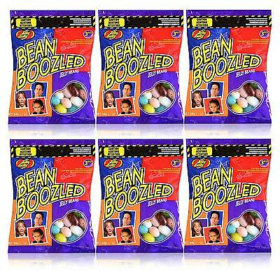 6 x Jelly Belly 3rd Edition Bean Boozled 54g Refill Candy Bags - New