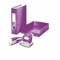 Leitz WOW A4 Letter Tray purple