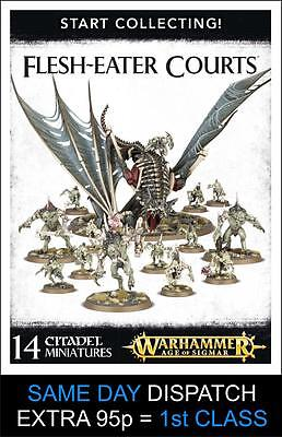Start Collecting! Flesh-Eater Courts - Warhammer 40k - Brand New