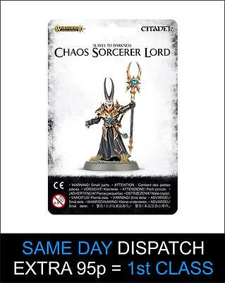 Chaos Sorcerer Lord - Warhammer 40k - Brand New