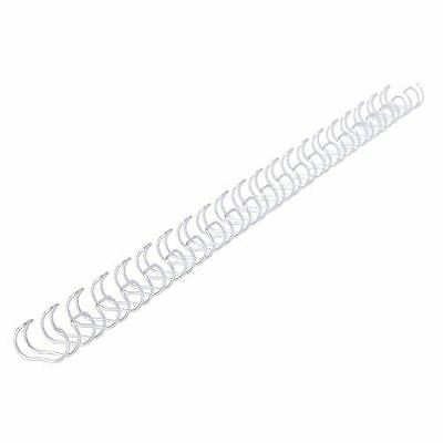 GBC 105 Sheet Capacity Ring Binding Wire Silver 21 Ring 12mm 100pk