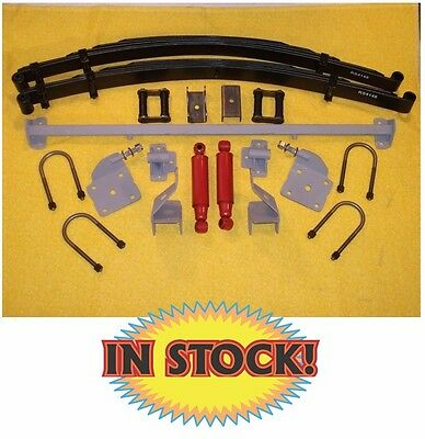 Chassis Engineering 1948-54 Chevy Pickup Dual Rear Leaf Spring Kit - AS-1014CGY