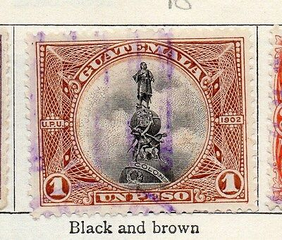 Guatemala 1902 Early Issue Fine Used 1P. 087574