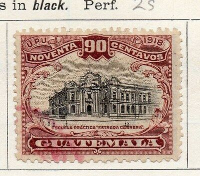 Guatemala 1919 Early Issue Fine Used 90c. 087588