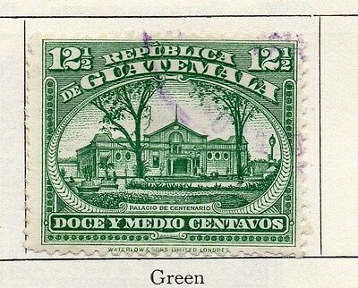 Guatemala 1925 Early Issue Fine Used 12.5c. 087596